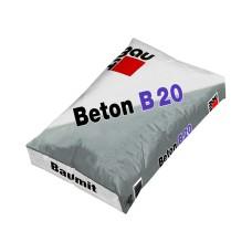 Sausas betono mišinys Baumit Beton B20 25,0kg