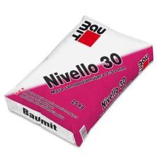 Savaime išsilyginantis cementinis skiedinys sienoms ir grindims lyginti Baumit Nivello 30 25,0kg