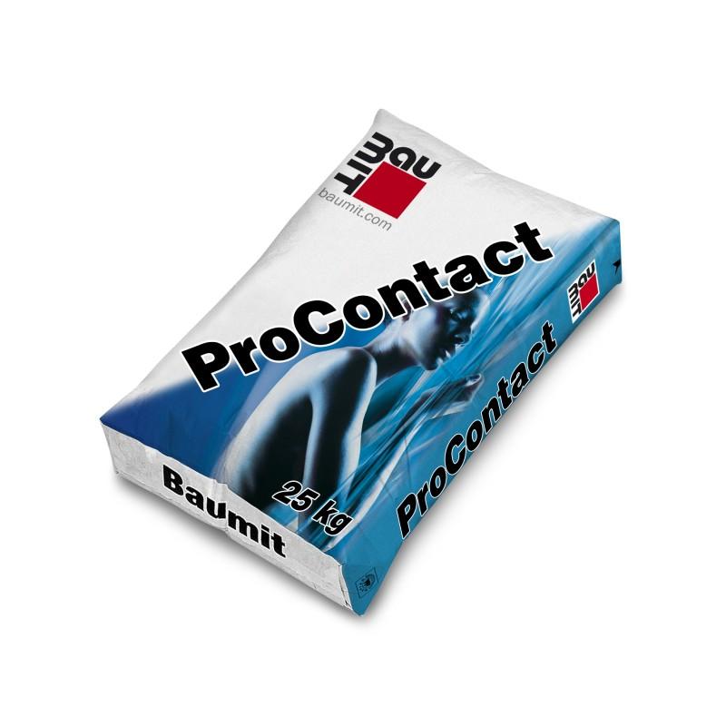 Mineralinis klijavimo-armavimo mišinys šilumos izoliacijai Baumit ProContact 25,0kg