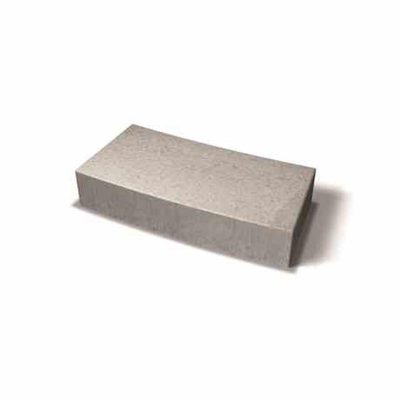 Benders lenktas dekoratyvinis blokas 4,5m 723,8x350x150 (Spalva - pilka)