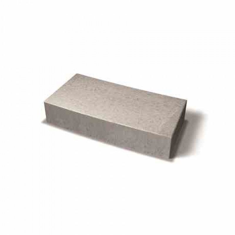 Benders lenktas dekoratyvinis blokas 6,0m 739,2x350x150 (Spalva - pilka)