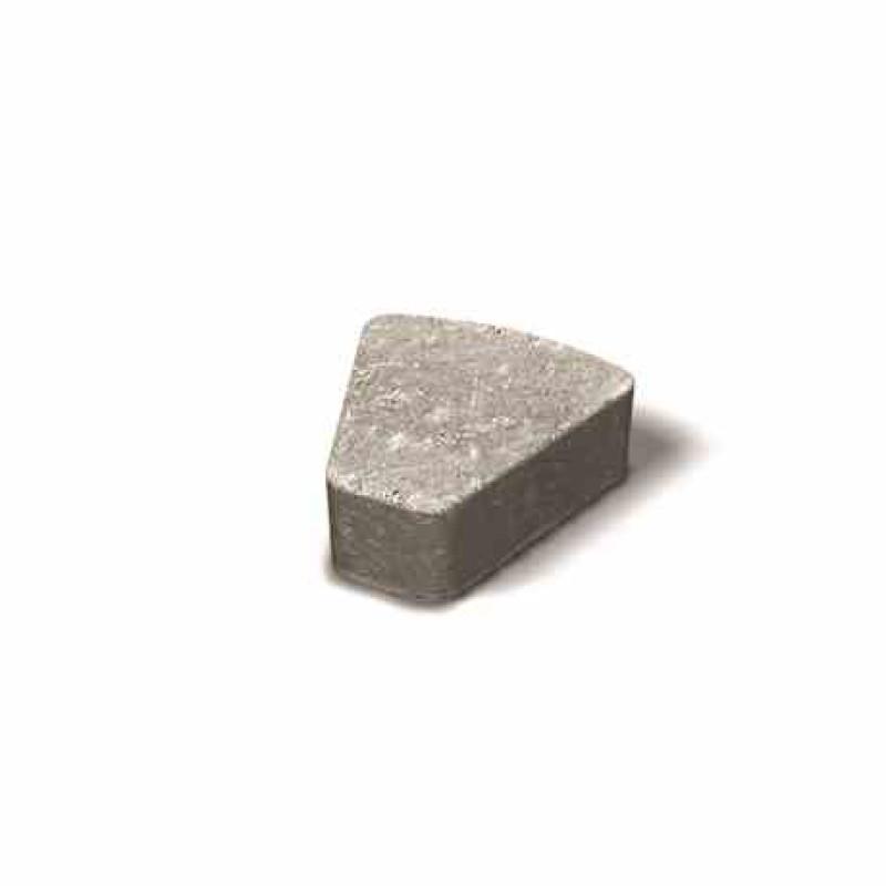 Benders betoninės rato trinkelės mažos Troja Antik 140x140x52,5x50 (Spalva - grafito)