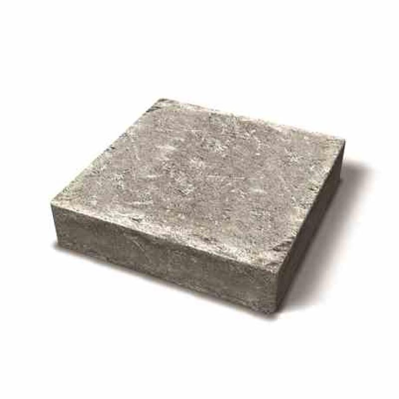 Benders betoninės trinkelės Troja Antik 210x210x50 (Spalva - ruda marga)
