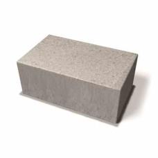Benders betoninės trinkelės Labyrint Antik Maxi stačiais kampais 350x210x140 (Spalva - grafito)