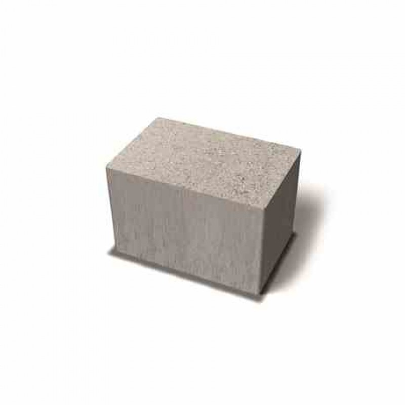 Benders betoninės trinkelės Labyrint Antik Mini stačiais kampais 210x140x140 (Spalva - grafito)