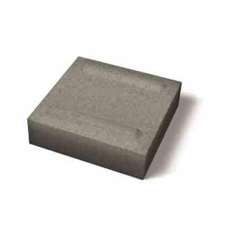 Benders Luxor atraminės sienėlės pusinis blokas 250x250x80 (Spalva - grafito)