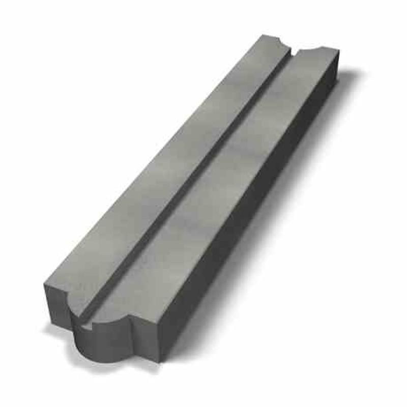 Benders atraminės sienėlės pamatinis blokas Mega 1000x210x100 (Spalva - pilka)