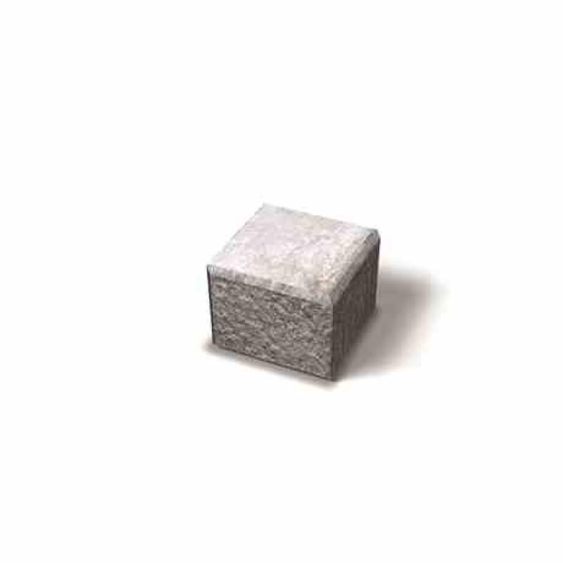 Benders Megaloc dvipusės atraminės sienėlės kampinis blokas 200x200x150 (Spalva - pilka)