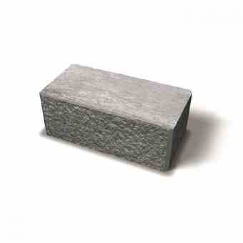 Benders Megasmart/Megastone atraminės sienėlės kampinis blokas 400x200x150 (Spalva - pilka)