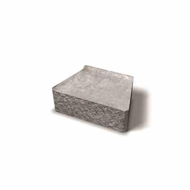 Benders Megastone tiesiai skeltas atraminės sienėlės blokas 300x200x100 (Spalva - pilka)