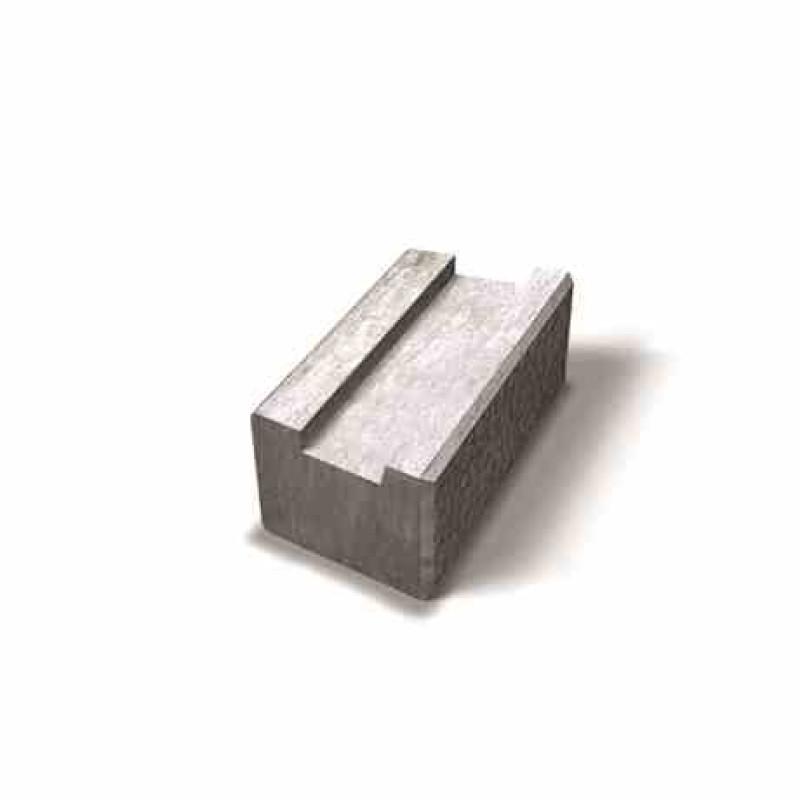 Benders Megawall Garden/Projekt atraminės sienėlės pamatinis blokas 400x200x150 (Spalva - pilka)