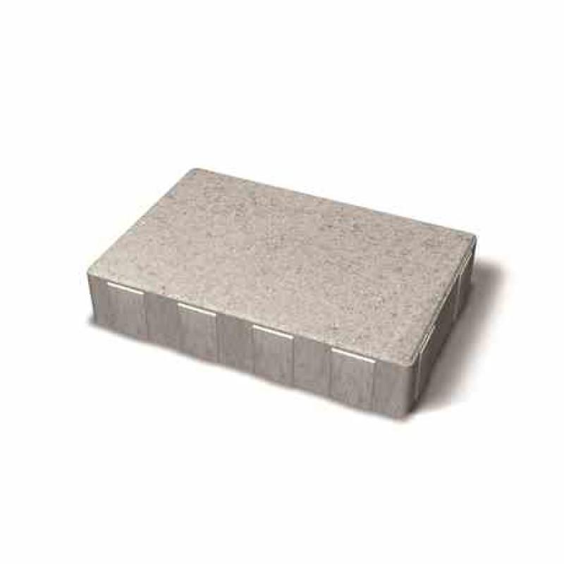 Benders betoninės grindinio plytelės Metro 210x140x40 (Spalva - pilka)