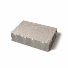 Benders betoninės grindinio plytelės Metro 210x140x50 (Spalva - grafito)