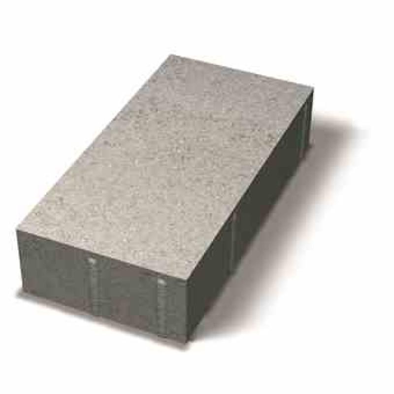 Benders grindinio plytelė stačiais kraštais 350x175x80 (Spalva - grafito)
