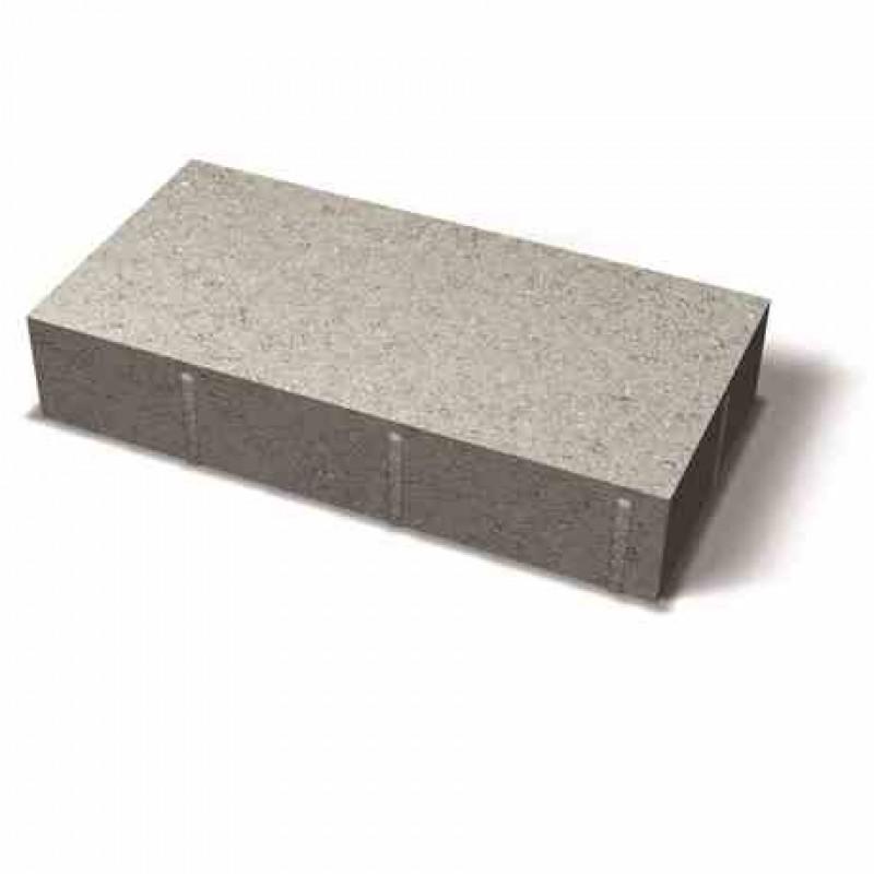 Benders grindinio plytelė stačiais kraštais 420x210x80 (Spalva - pilka)