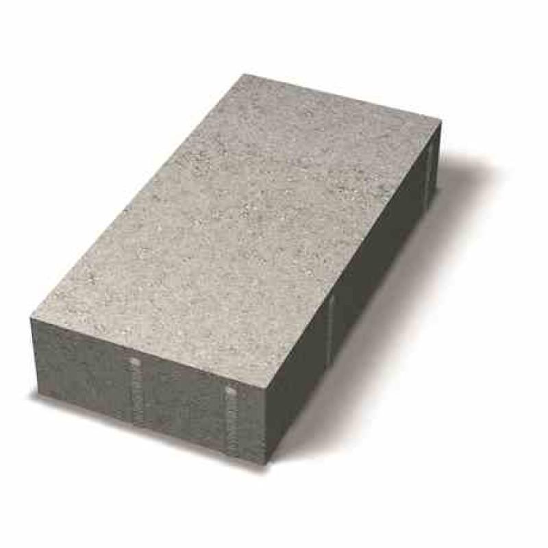Benders grindinio plytelė nuožulniais kraštais 350x175x60 (Spalva - balta)