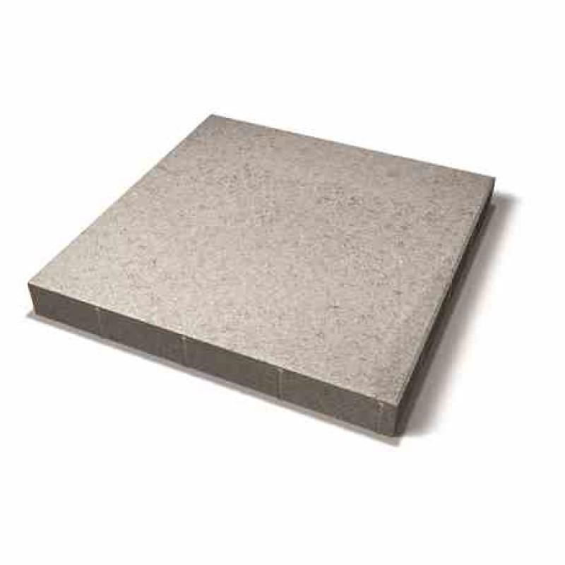 Benders grindinio plytelė nuožulniais kraštais 700x700x80 (Spalva - pilka)