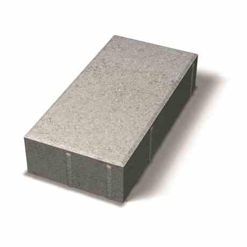 Benders grindinio plytelė nuožulniais kraštais 350x175x80 (Spalva - pilka)