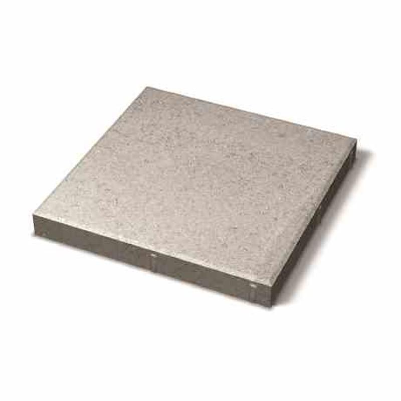 Benders grindinio plytelė nuožulniais kraštais 350x350x40 (Spalva - pilka)