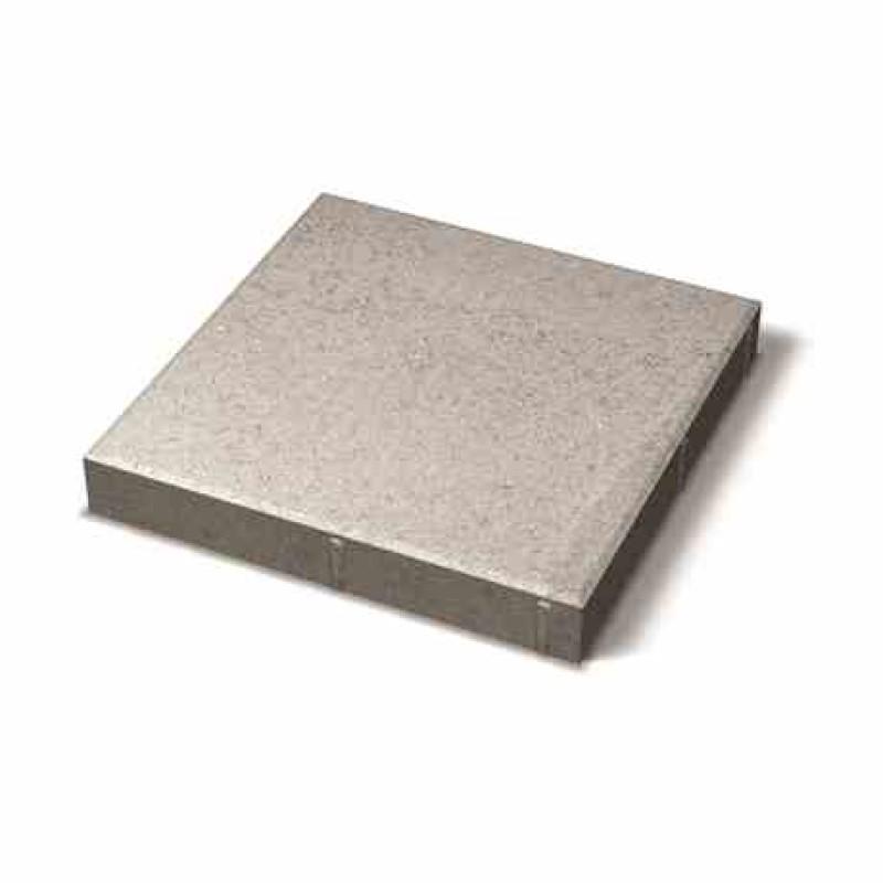 Benders grindinio plytelė nuožulniais kraštais 350x350x50 (Spalva - pilka)