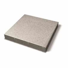 Benders grindinio plytelė nuožulniais kraštais 350x350x60 (Spalva - balta)