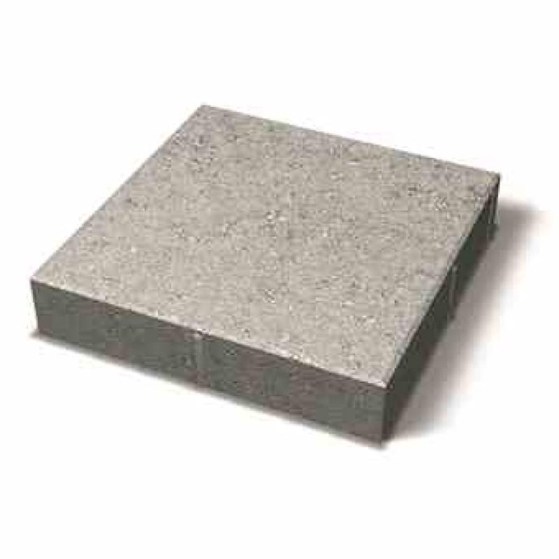 Benders grindinio plytelė nuožulniais kraštais 350x350x70 (Spalva - pilka)