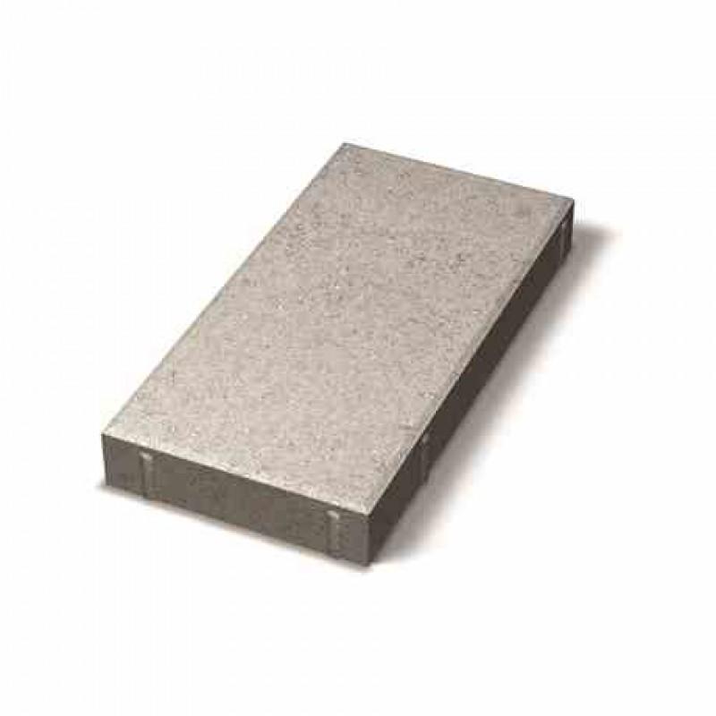 Benders grindinio plytelė nuožulniais kraštais 400x200x50 (Spalva - pilka)