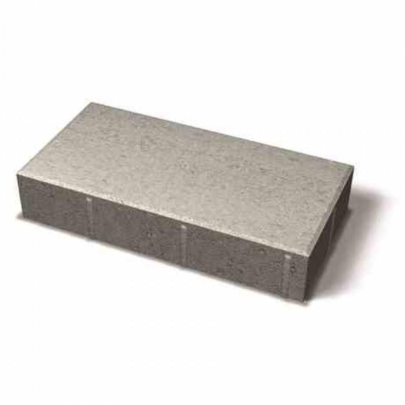 Benders grindinio plytelė nuožulniais kraštais 420x210x80 (Spalva - grafito)