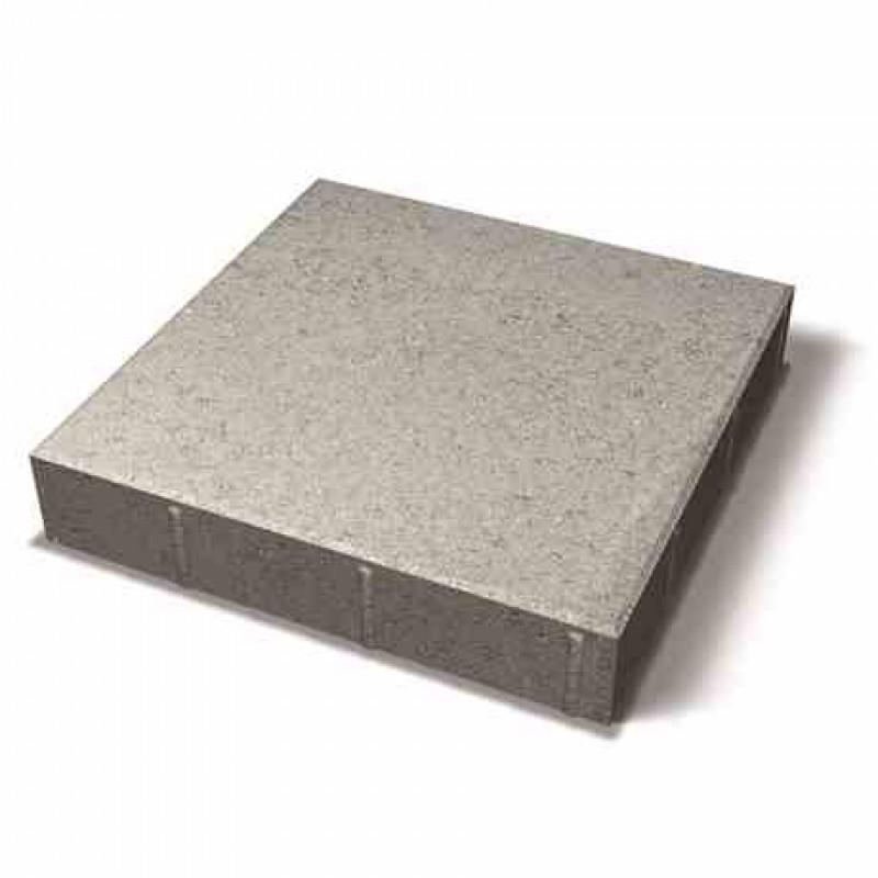 Benders grindinio plytelė nuožulniais kraštais 420x420x80 (Spalva - pilka)