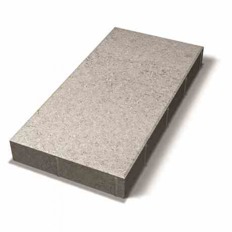 Benders grindinio plytelė nuožulniais kraštais 700x350x80 (Spalva - pilka)