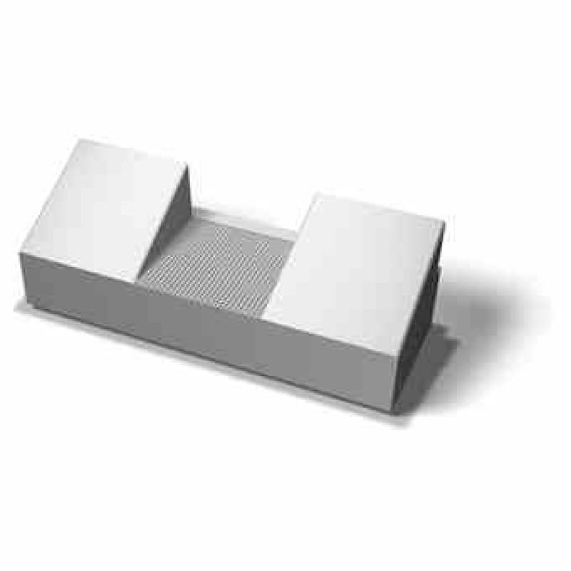 Benders laiptų blokas rampai 900x300x1500 (Spalva - pilka)