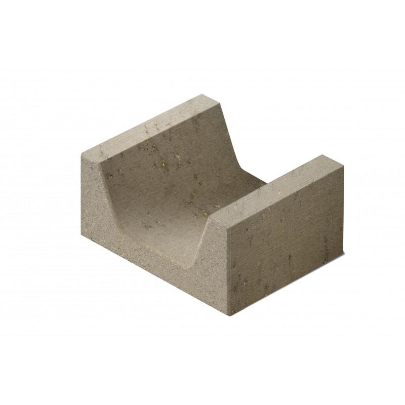 Betono mozaika Latakų elementas LE 3-24 400x500x240