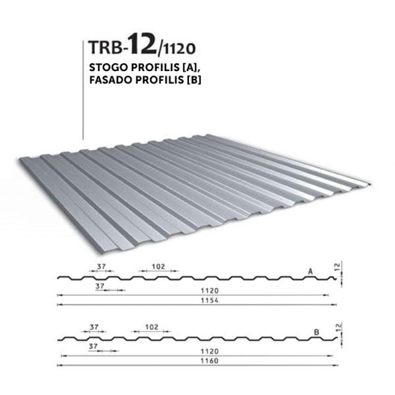 Trapecinis profilis TRB 12/1120