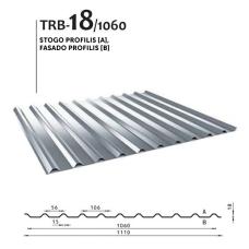 Trapecinis profilis TRB 18/1060