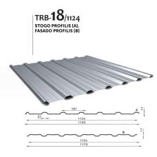 Trapecinis profilis TRB 18/1124