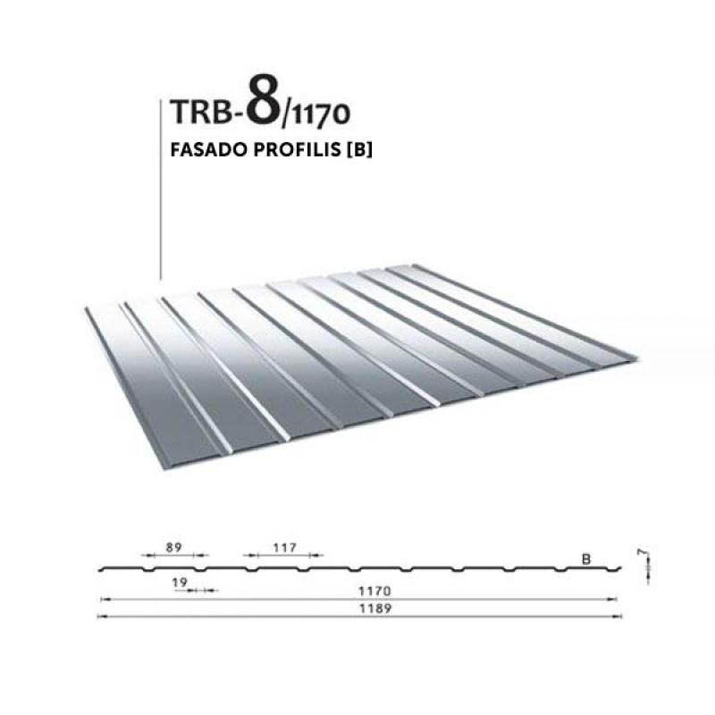 Trapecinis profilis TRB 8/1170