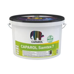 Šilko matiniai, atsparūs šlapiam trynimui lateksiniai vidaus dažai CAPAROL Samtex 7 E.L.F. 10,0l