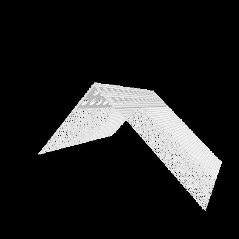 Ejot PVC kampas su tinkleliu 100x150mm 2,5m