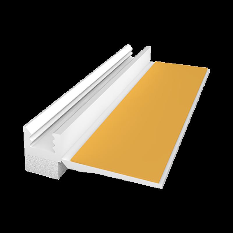 Ejot PVC deformacinis profilis 108, plotis 6mm 2,4m
