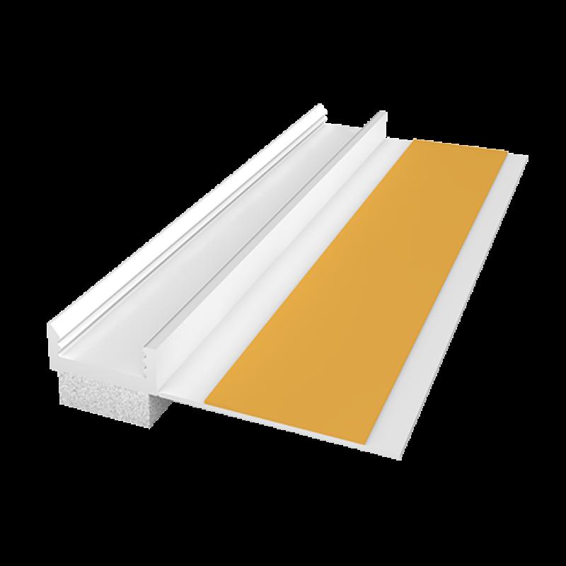 Ejot PVC deformacinis profilis APP 09/01 (108, plotis 9mm) 2,4m