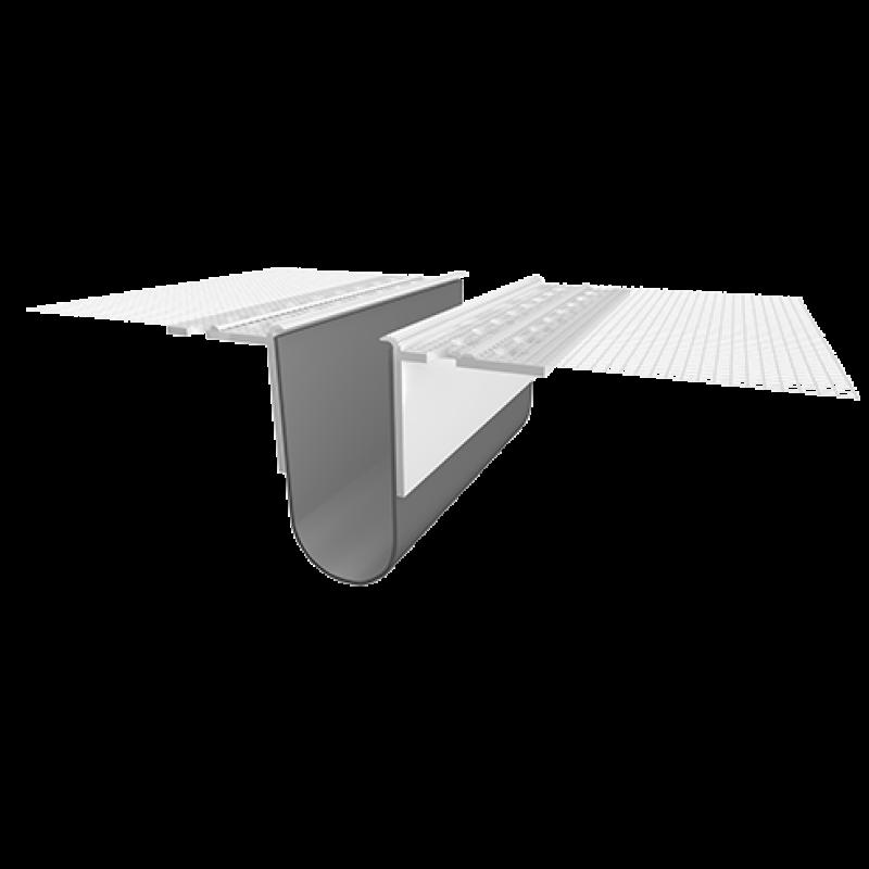 Ejot PVC Profilis 420E 2,0m (deformacinių siūlių profilis plokštumai)