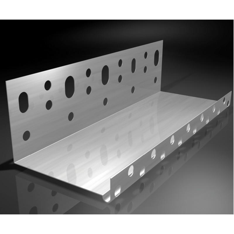 Ejot cokolinis aliuminio profilis 100mm pločio 2,0m 0,8mm