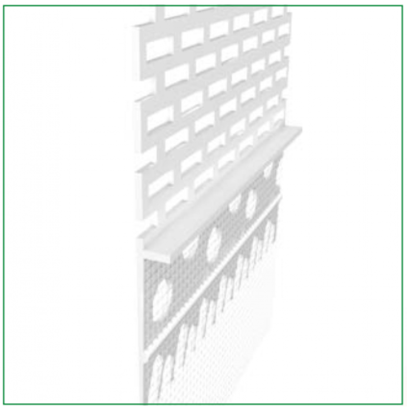 Ejot PVC profilis Vent 2,0m