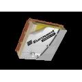 Eurovent vienpusė metalizuota klijavimo juosta AluFix 50mm x 50,0m