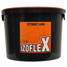 Bitumo-kaučiuko mišinys Izolfex Styrbit 2000 10,0l