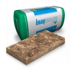 Mineralinė vata Knauf Naturboard 035 100 mm storio, hidrofobizuota, fasadui