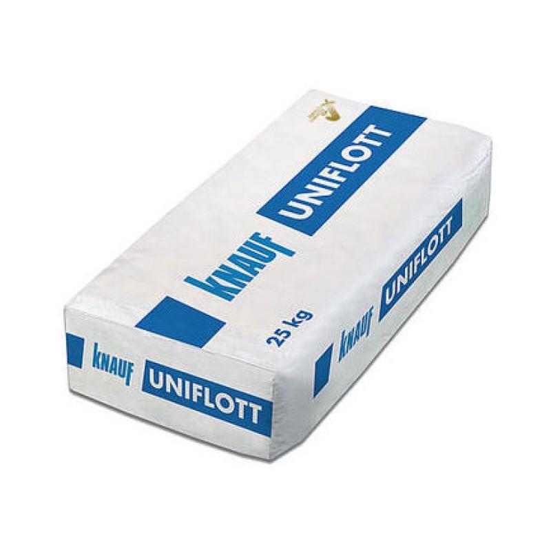 Ypač tvirtas gipsinis gipskartonio bei gipso plaušo plokščių siūlių glaistas Knauf Uniflot 25,0kg