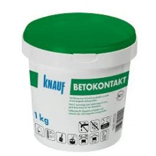 Neįgeriančių mineralinių paviršių gruntas Knauf Betokontakt 1,0kg