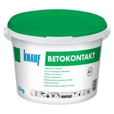 Neįgeriančių mineralinių paviršių gruntas Knauf Betokontakt 5,0kg