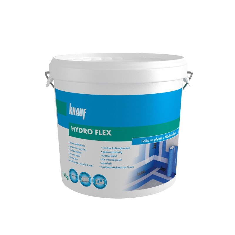 Teptinė hidroizoliacija Knauf HydroFlex 15,0kg